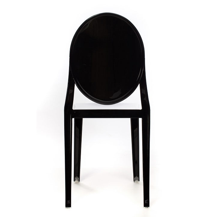armless ghost chair bishops black kage rpc bl stackchairs4less