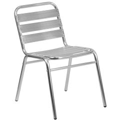 Outdoor Aluminum Chairs Stacking Stackchairs4less Stack Commercial Indoor Restaurant Chair With Triple Slat Back