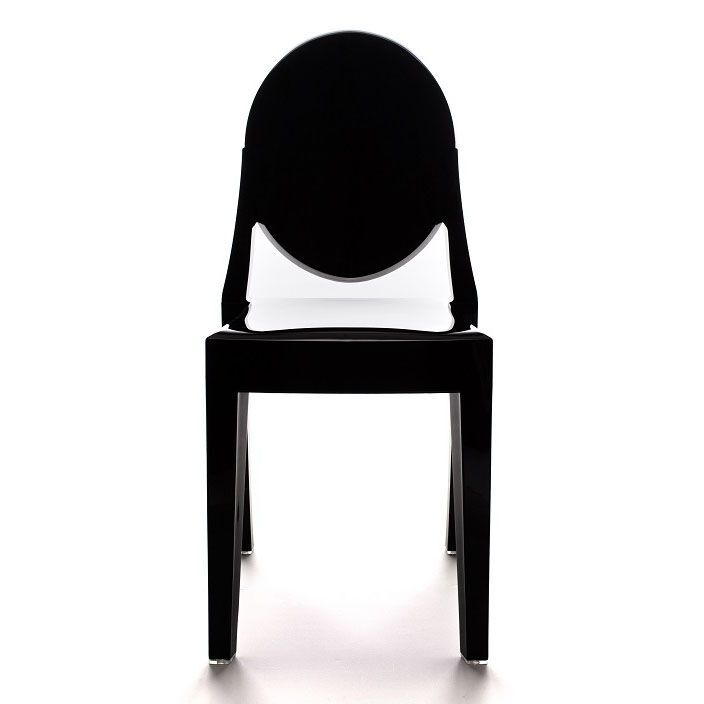 armless ghost chair wheelchair up stairs commercial seating products polycarbonate stackable black