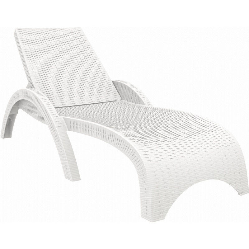 resin chaise lounge chairs ikea dining chair covers for sale white outdoor isp860 wh stackchairs4less com images our miami wickerlook