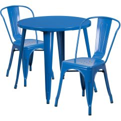 Cafe Chairs Metal Ergonomic Chair And Ottoman 30rd Blue Set Ch 51090th 2 18cafe Bl Gg Stackchairs4less Com