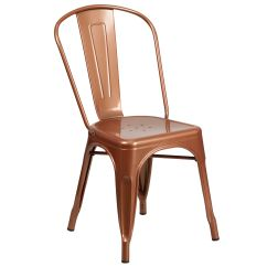 Stackable Restaurant Chairs Small Side Stackchairs4less Dining Stack Copper Metal Indoor Outdoor Chair