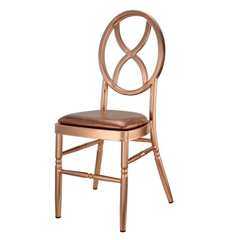 commercial seating chairs small plastic kid rose gold velika aluminum chair ma vk 412 sandglass rg 2 images