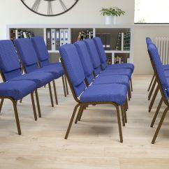 Blue Dot Chairs Home Theater Cheap Fabric Church Chair Xu Ch 60096 Nvy Gg
