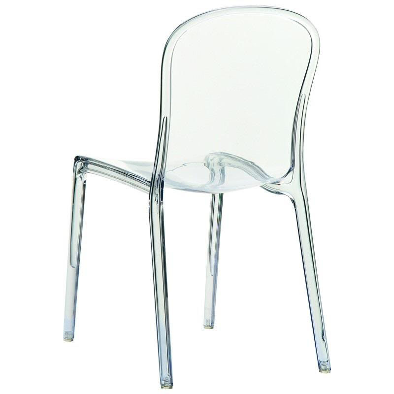 plastic see through chair rocking white clear stacking dining isp033 tcl stackchairs4less com our victoria modern outdoor polycarbonate stackable transparent is on sale