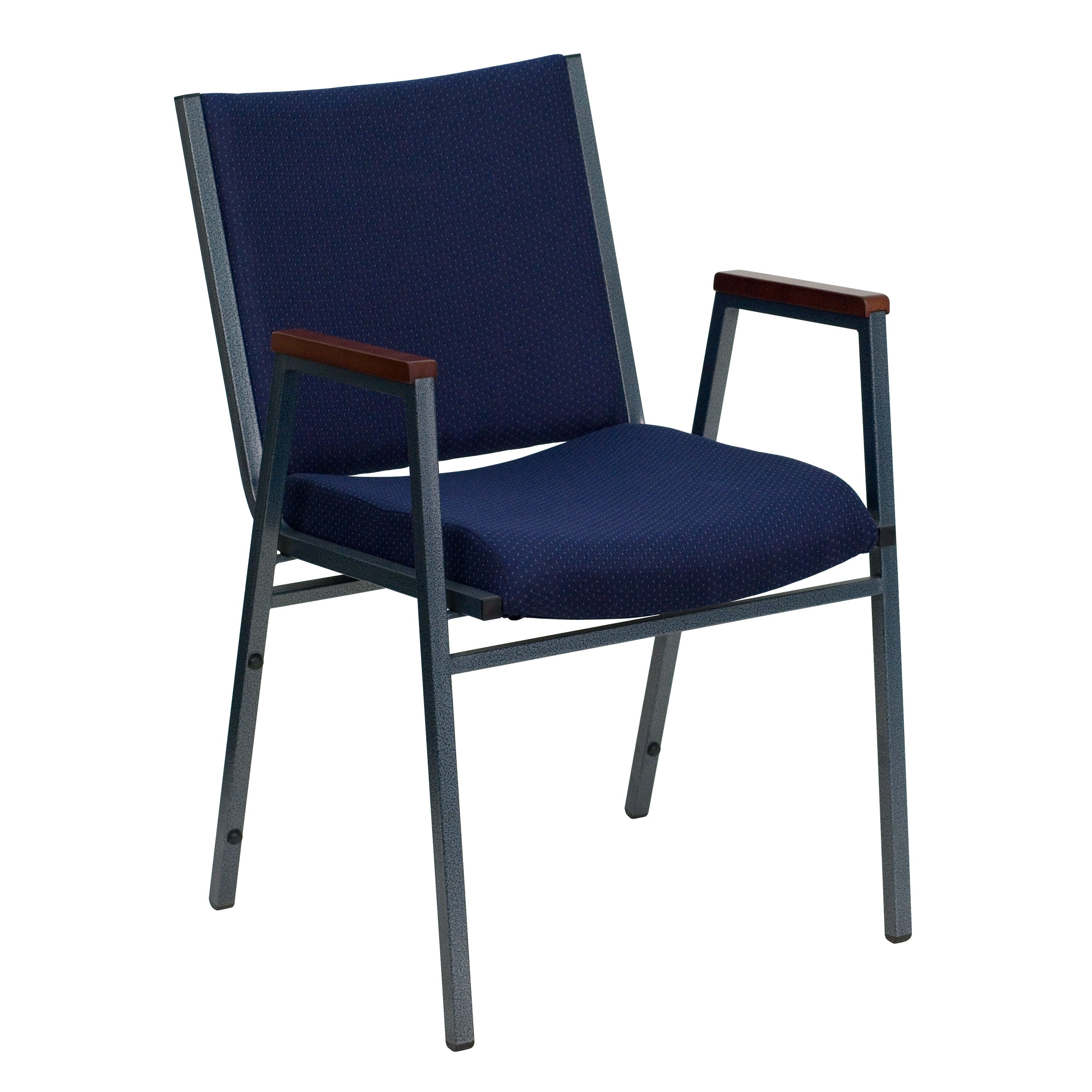 chairs 4 less walking stick chair south africa navy fabric stack armchair xu 60154 nvy gg