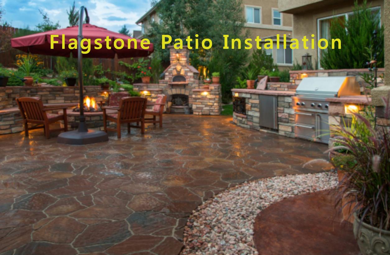 Flagstone Patios  Flagstone Patio Installation  Free