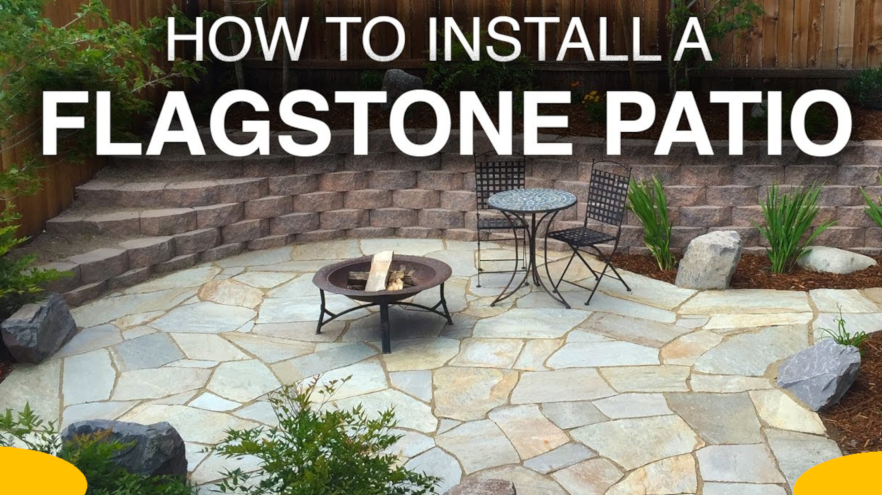 Flagstone Patio Installation  Free Guide About Flagstone