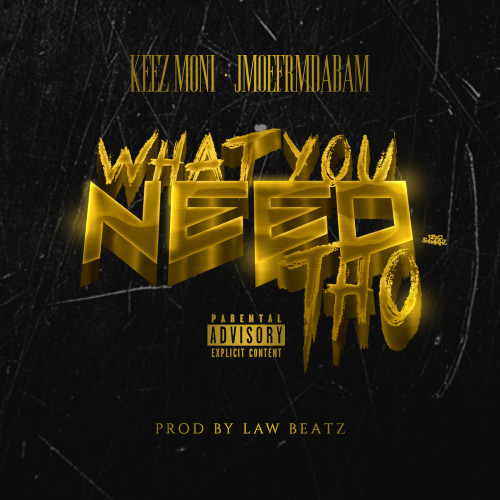 WHAT YOU NEED THO COVER ART