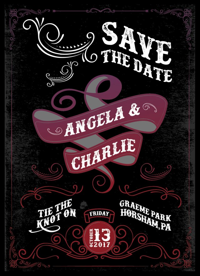 angela and charlie save the date