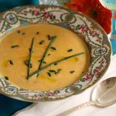 Creamy Pumpkin Soup recipe by Stacy Lyn Harris