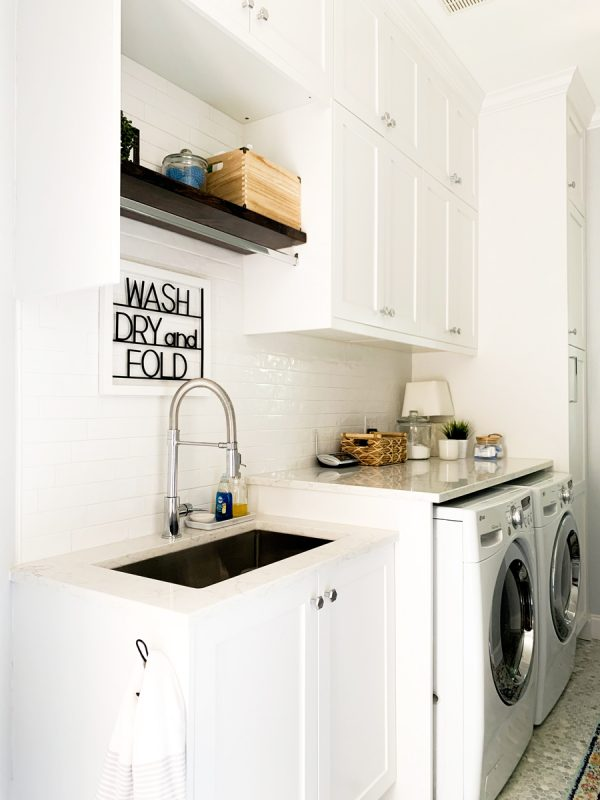 laundry room remodel reveal