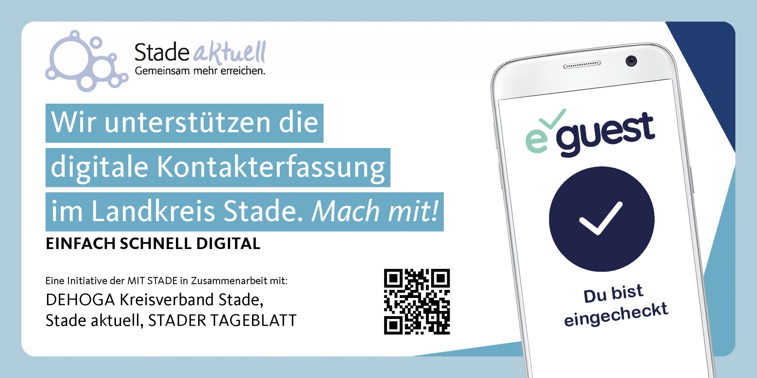 Digitale Kontakterfassung mit eGuest
