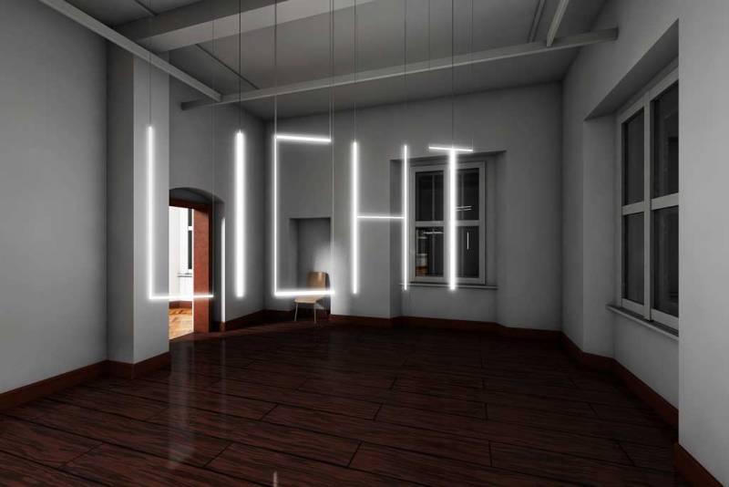 """Vorschau auf die Ausstellung: Götz Lemberg """"licht"""" © Götz Lemberg"""