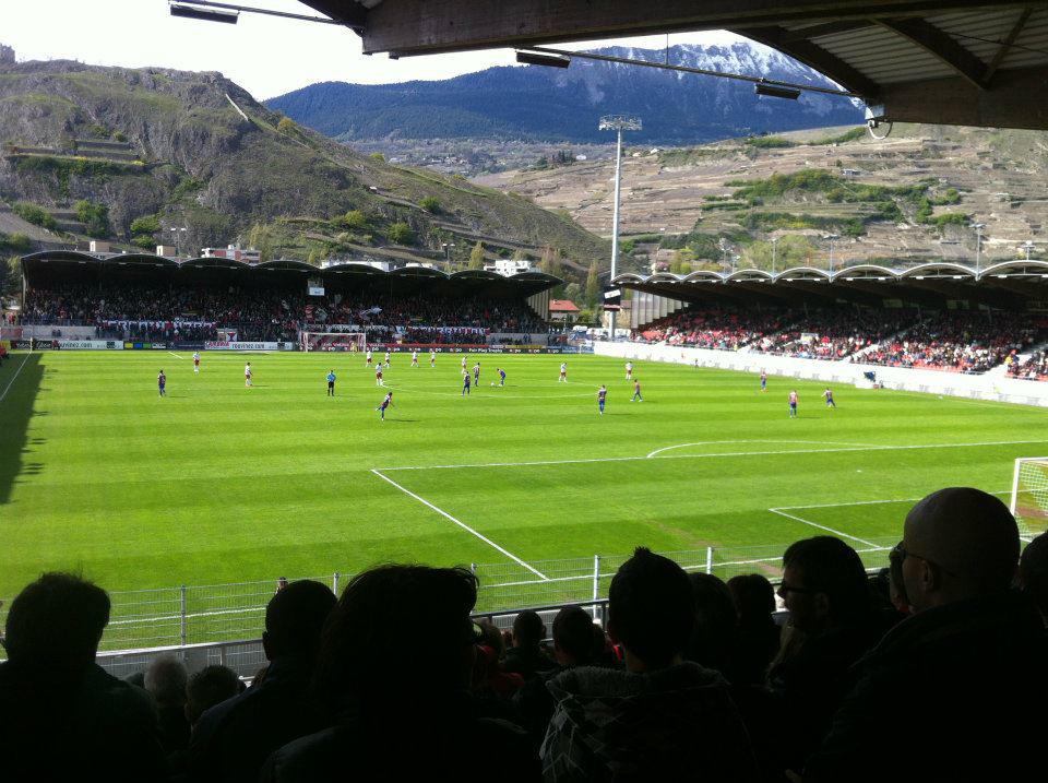 Stade de Tourbillon  Sion  The Stadium Guide