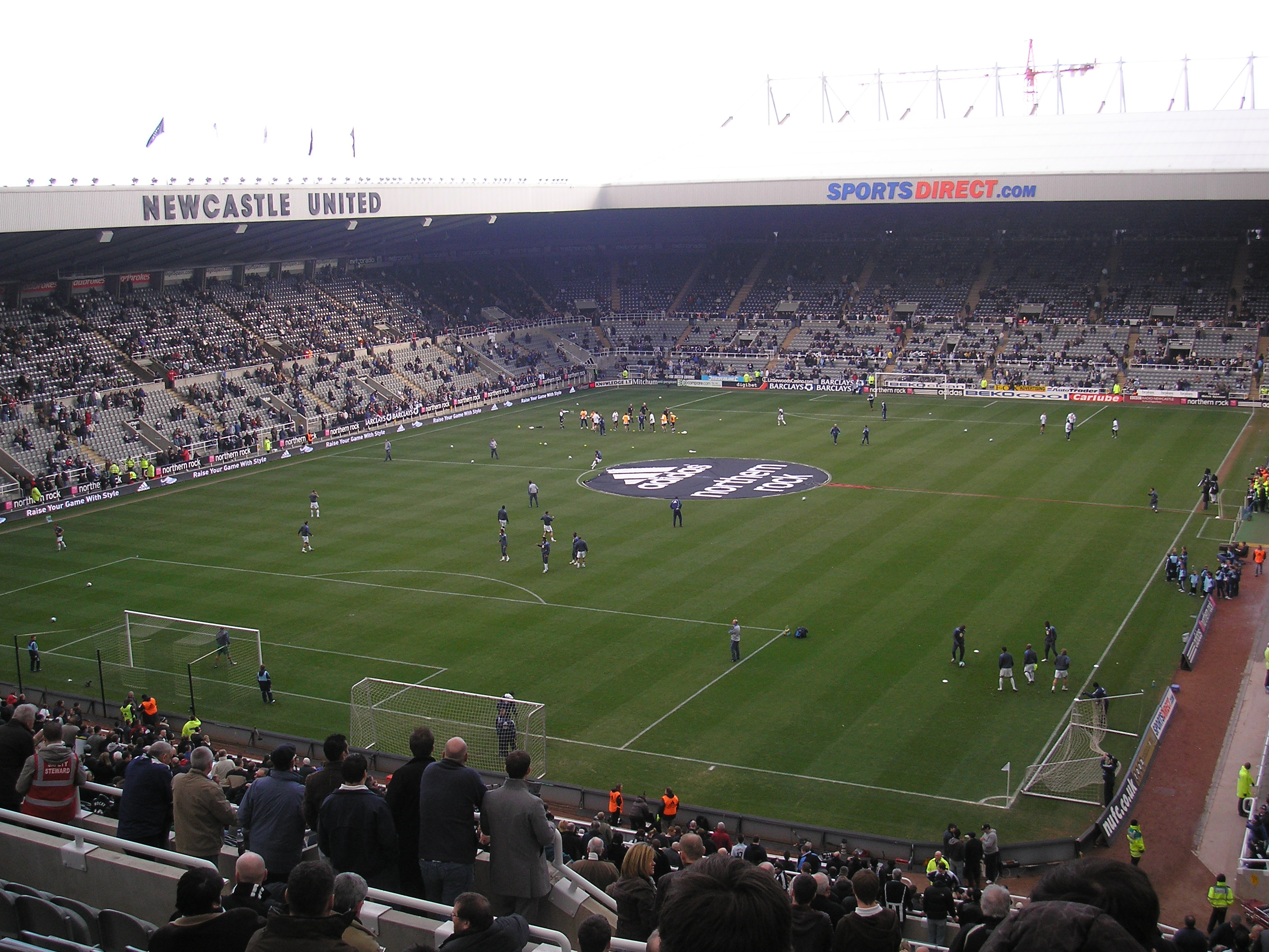 Here are the 10 best stadiums in the u.s. St James' Park - Newcastle United FC   Stadium Journey