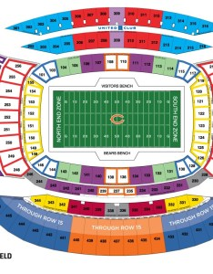 Soldier field also nfl stadium seating charts stadiums of pro football rh stadiumsofprofootball