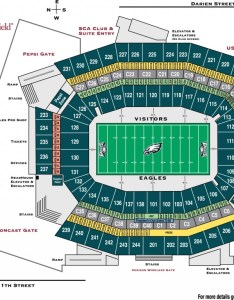 Eagles seating chart philadelphia at lincoln financial field also timiznceptzmusic rh