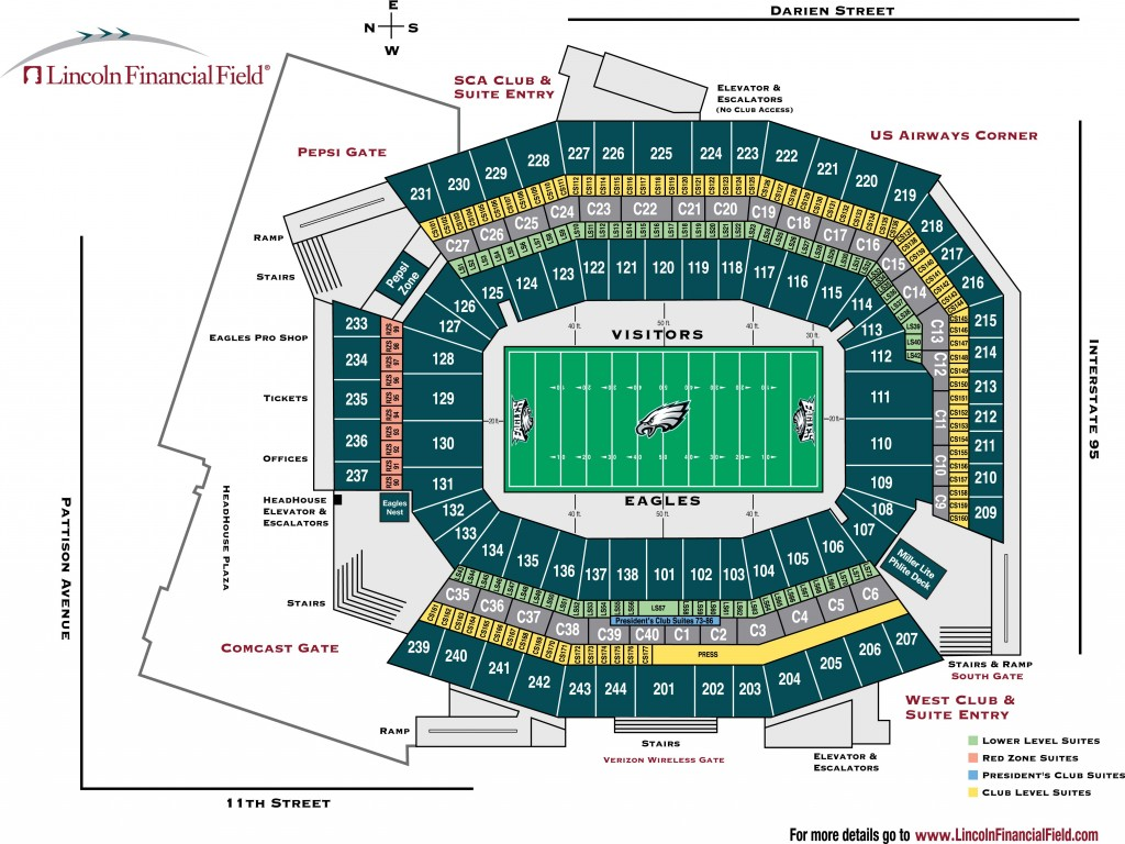 hight resolution of lincoln financial field