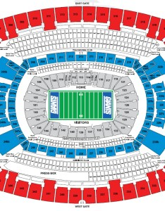 Oakland raiders metlife stadium also nfl seating charts stadiums of pro football rh stadiumsofprofootball