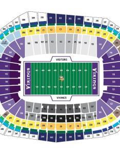 Miami dolphins us bank stadium also nfl seating charts stadiums of pro football rh stadiumsofprofootball