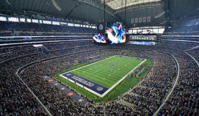 AT&T Stadium, Dallas Cowboys football stadium - Stadiums of Pro Football