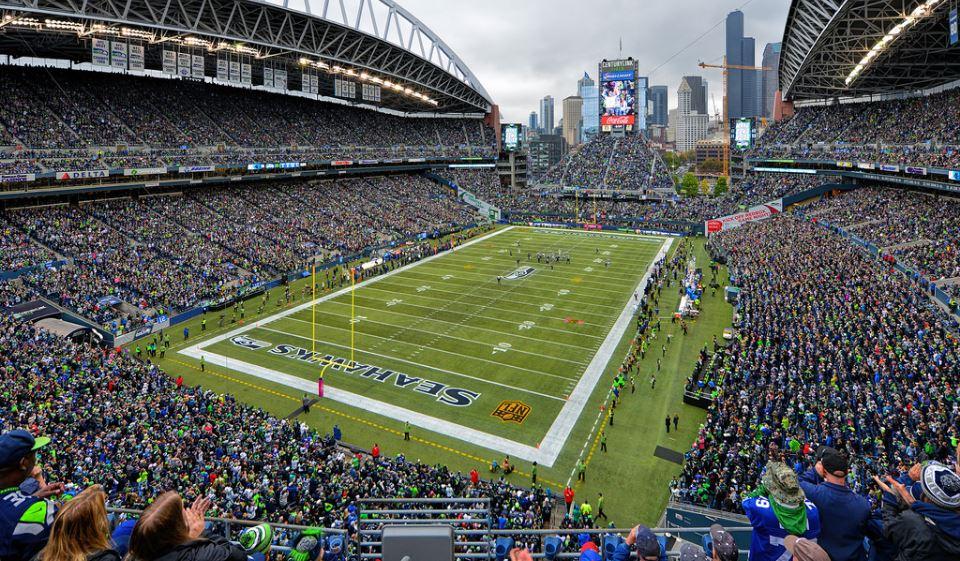 Centurylink Field Seattle Seahawks Football Stadium Stadiums