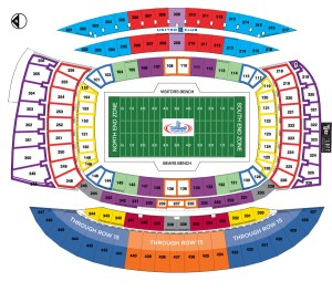 Soldier Field, Chicago Bears football stadium  Stadiums