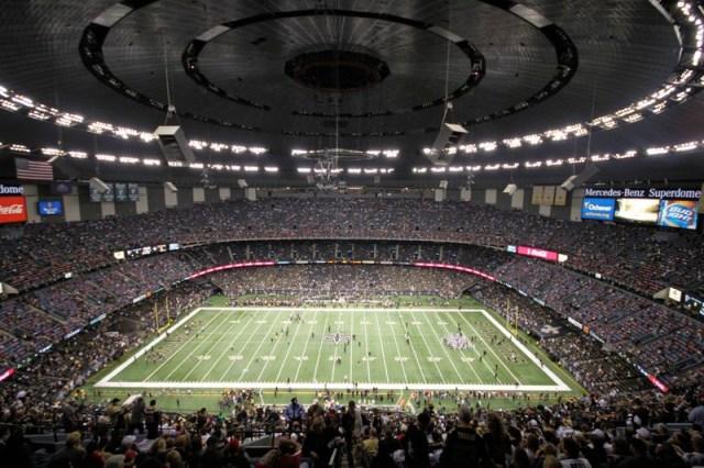 Mercedes-Benz Superdome, New Orleans Saints football stadium - Stadiums of  Pro Football