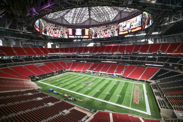 Image result for mercedes-benz stadium in atlanta georgia