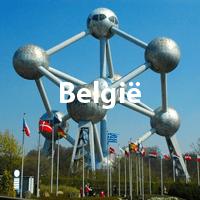 Belgie stadsstranden