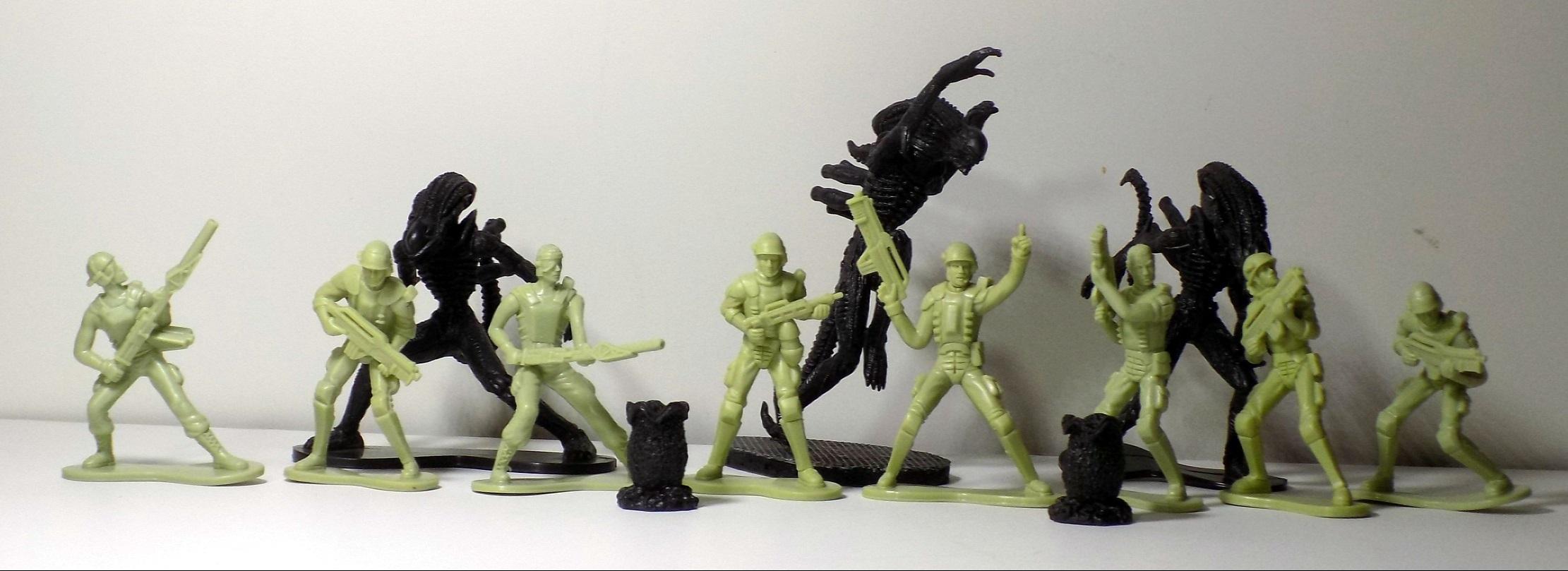 Aliens Tree House Figures-Marine DIETHRICH /& Alien