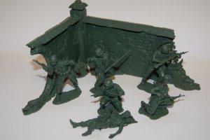 First Look Plastic Platoon Vietnam Gi Soldiers