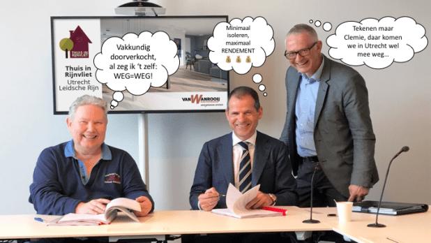 Clemie van Wanrooij, Ovast, Van Wanrooij Bouw en Ontwikkeling, Rijnvliet-Zuid, Utrecht, stadsverwarming, Eneco