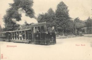 Ansichtkaart tram Nijmegen