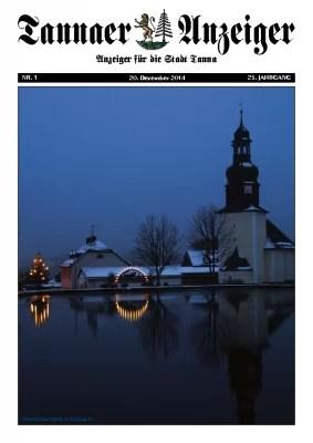 Jahresanzeiger 2014