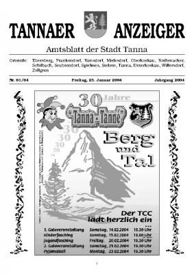 Amtsblatt Januar 2004
