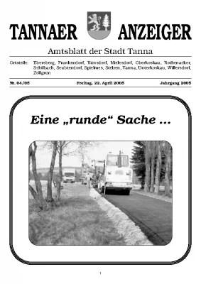 Amtsblatt April 2005