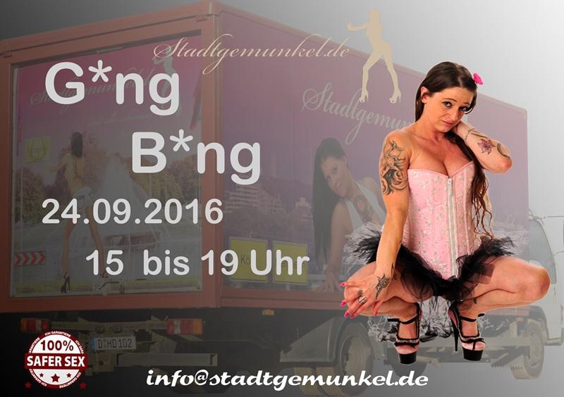 Gang Bang Party mit Adrienne Kis