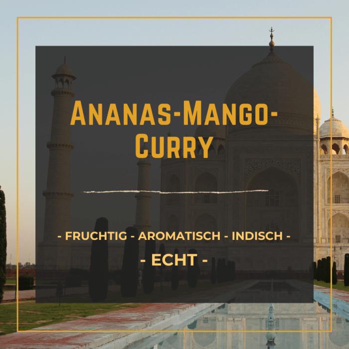StadtGeschmack Slider Ananas-Mango-Curry