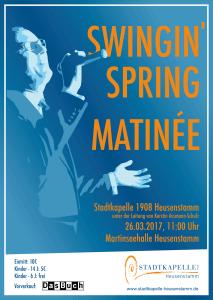 Swinging Spring Matinée - Ein Vormittag nur mit Swing-Musik und Gesang