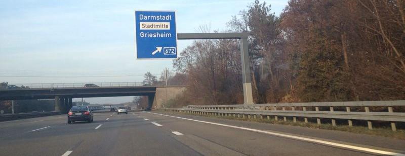Die kürzeste Autobahn Deutschlands