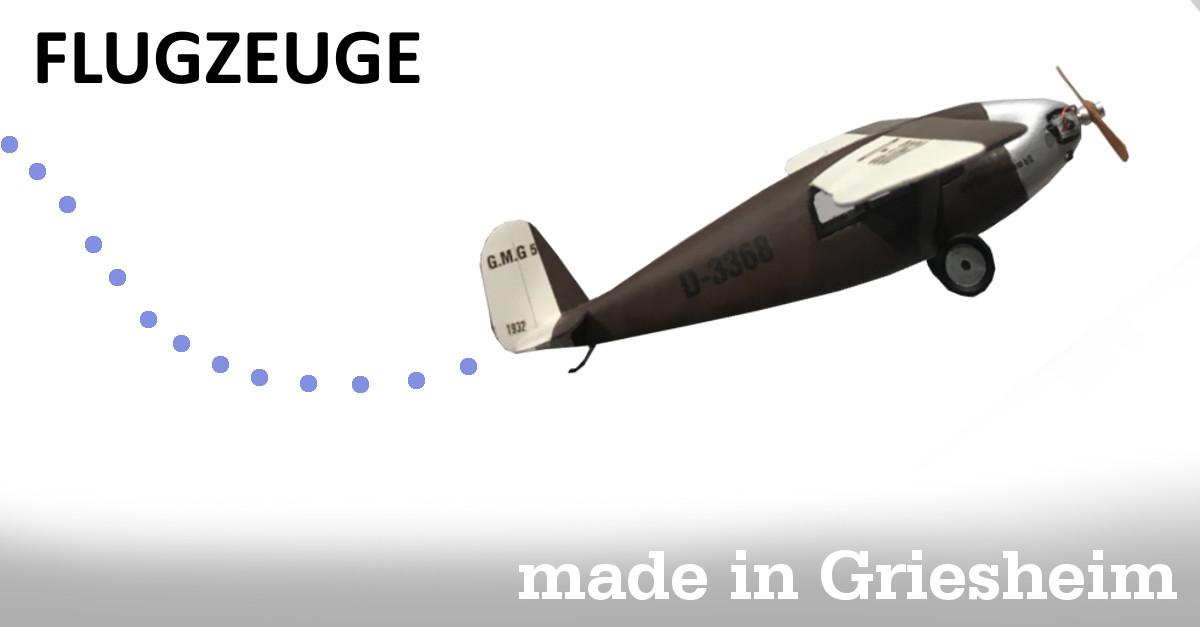 Flugzeuge – Made in Griesheim