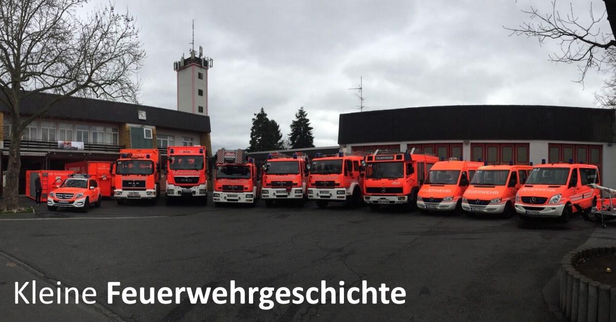Kleine Feuerwehrgeschichte