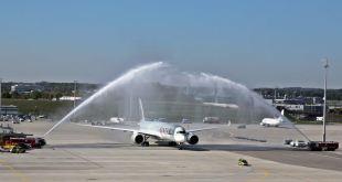 A350 XWB Qatar Airways Flughafen München