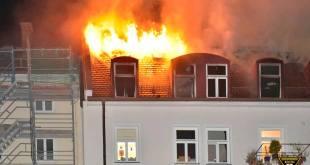 Dachstuhlbrand München Isarvorstad
