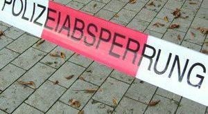 Polizeiabsperrung München