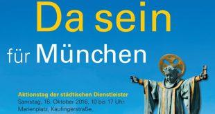 Plakat Aktionstag Da sein für München