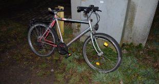 Fahrrad eines Opfers eines Bahnunfalles in der Lerchenau München Quelle Foto Polizei München
