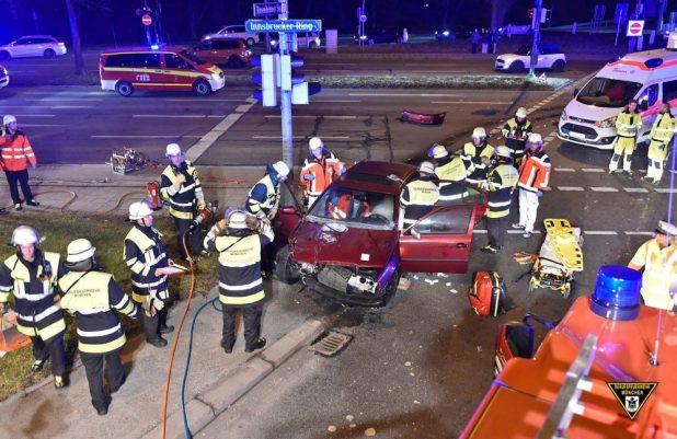 Verkehrsunfall Autobahn-Ende A8 Quelle Foto Berufsfeuerwehr München